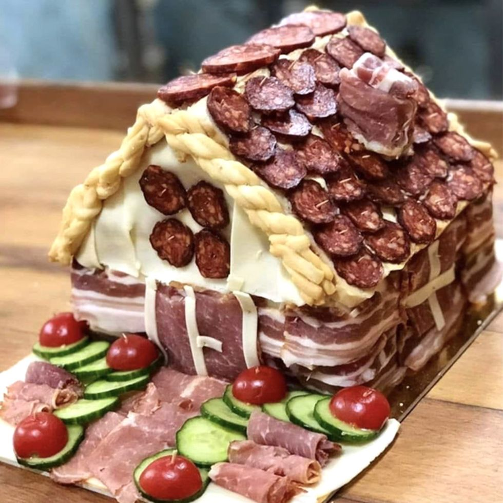 Move Over, Gingerbread Houses — People Are Building 'Charcuterie Chalets' This Holiday Season