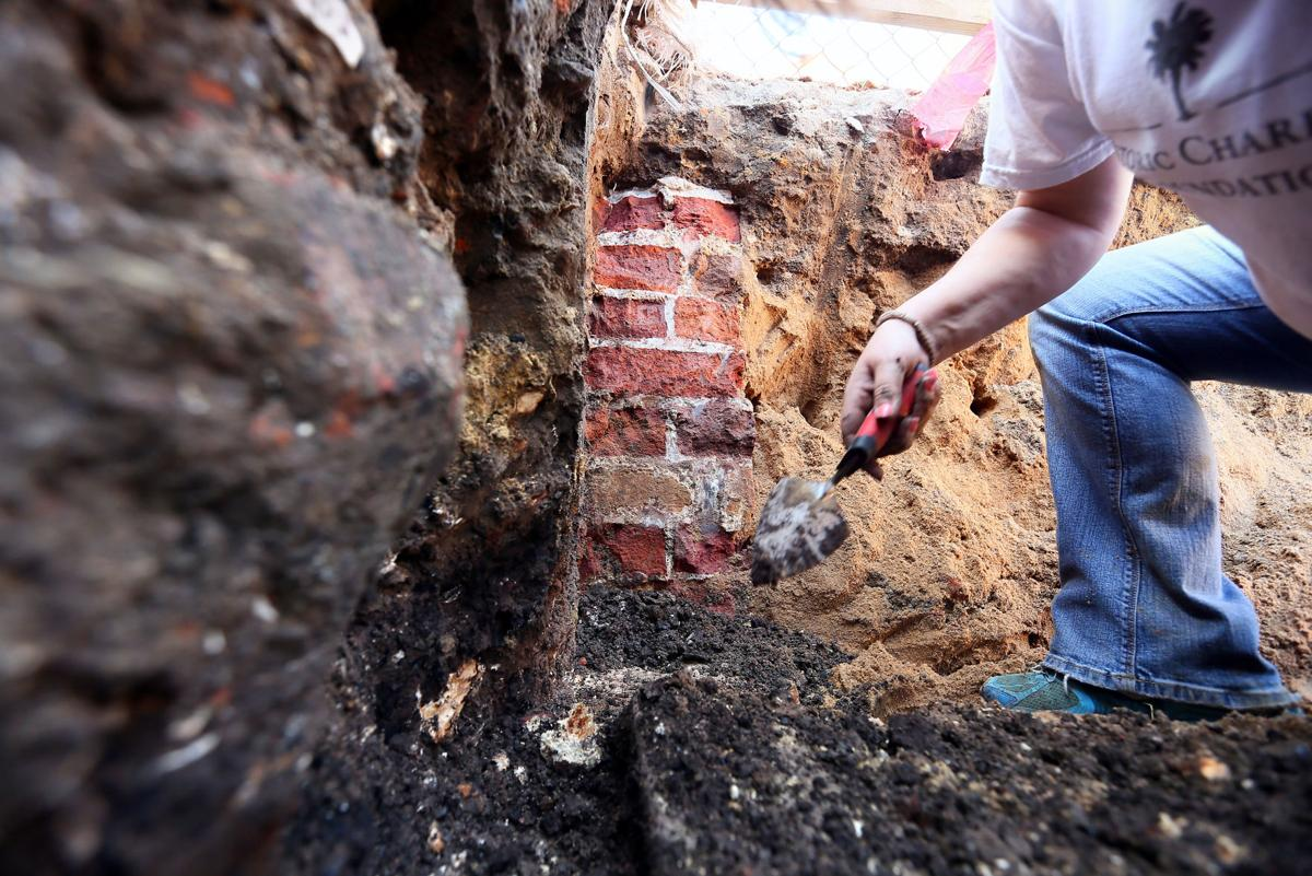 Hotel Construction Unearths Piece of  Wall Dating Back to Early 1700's