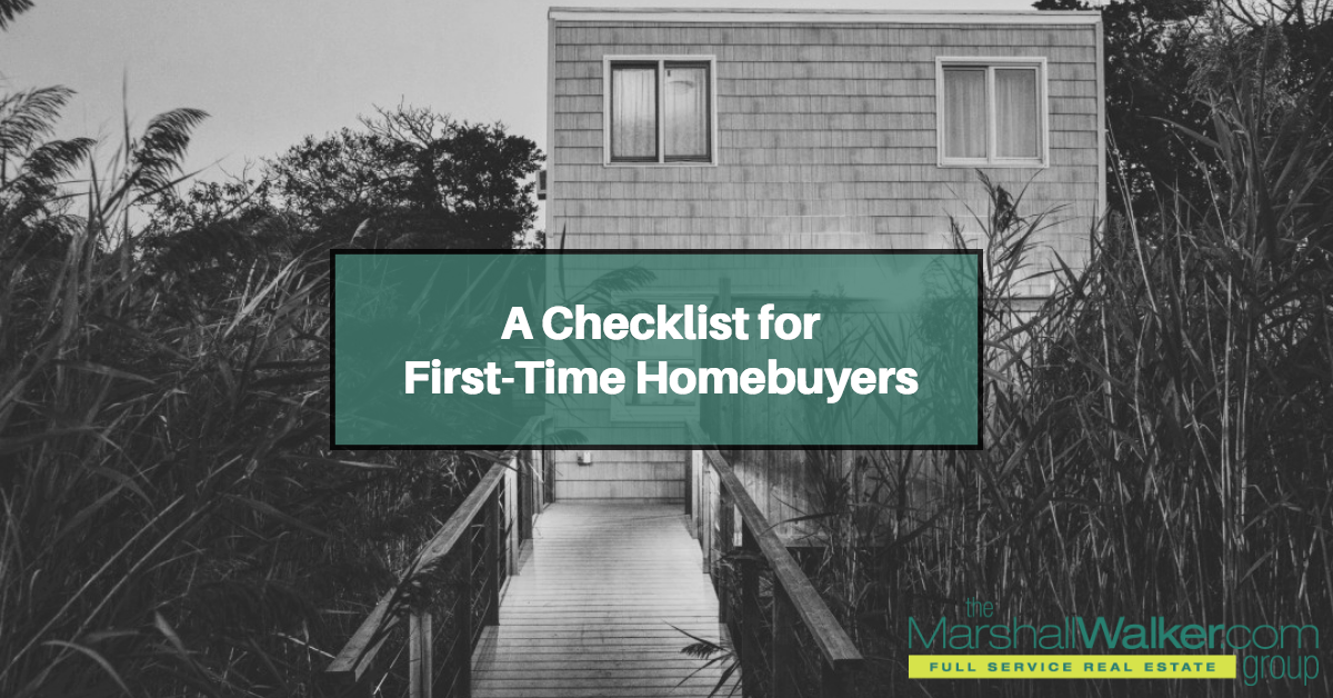A Checklist for First-Time Homebuyers