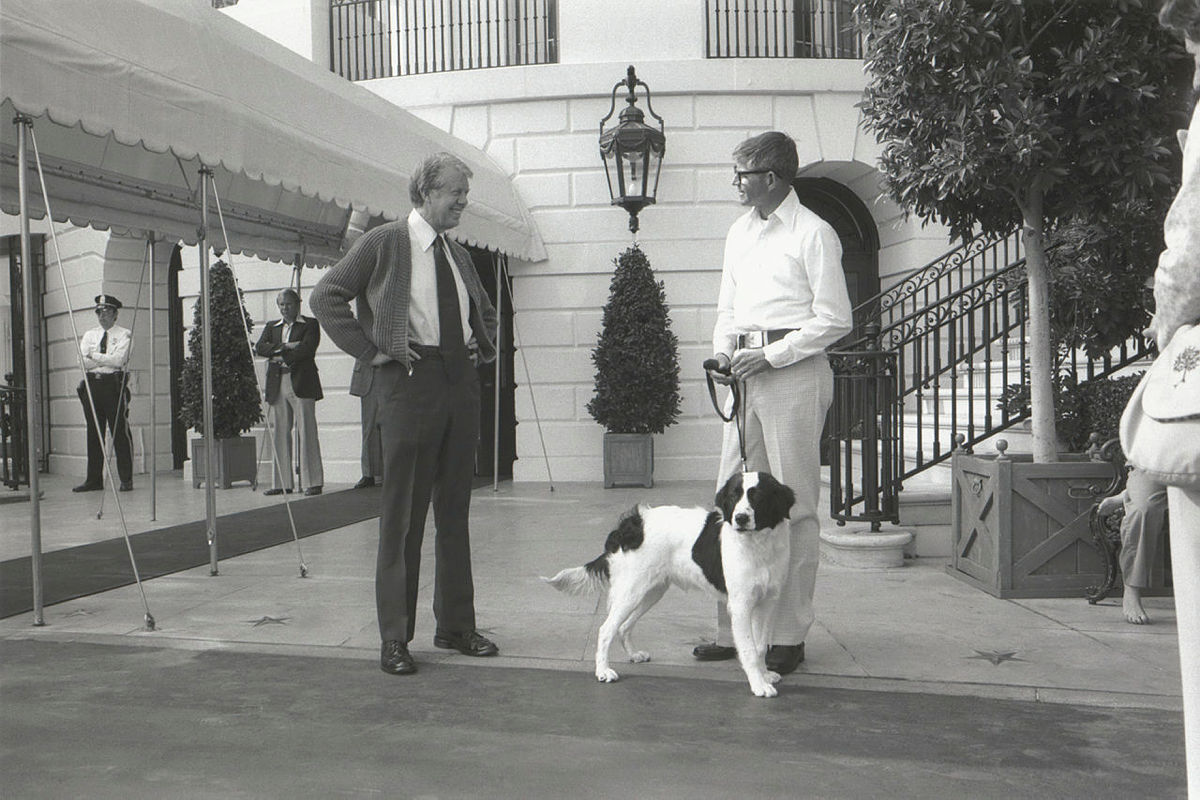 A History of the White House's First Dogs