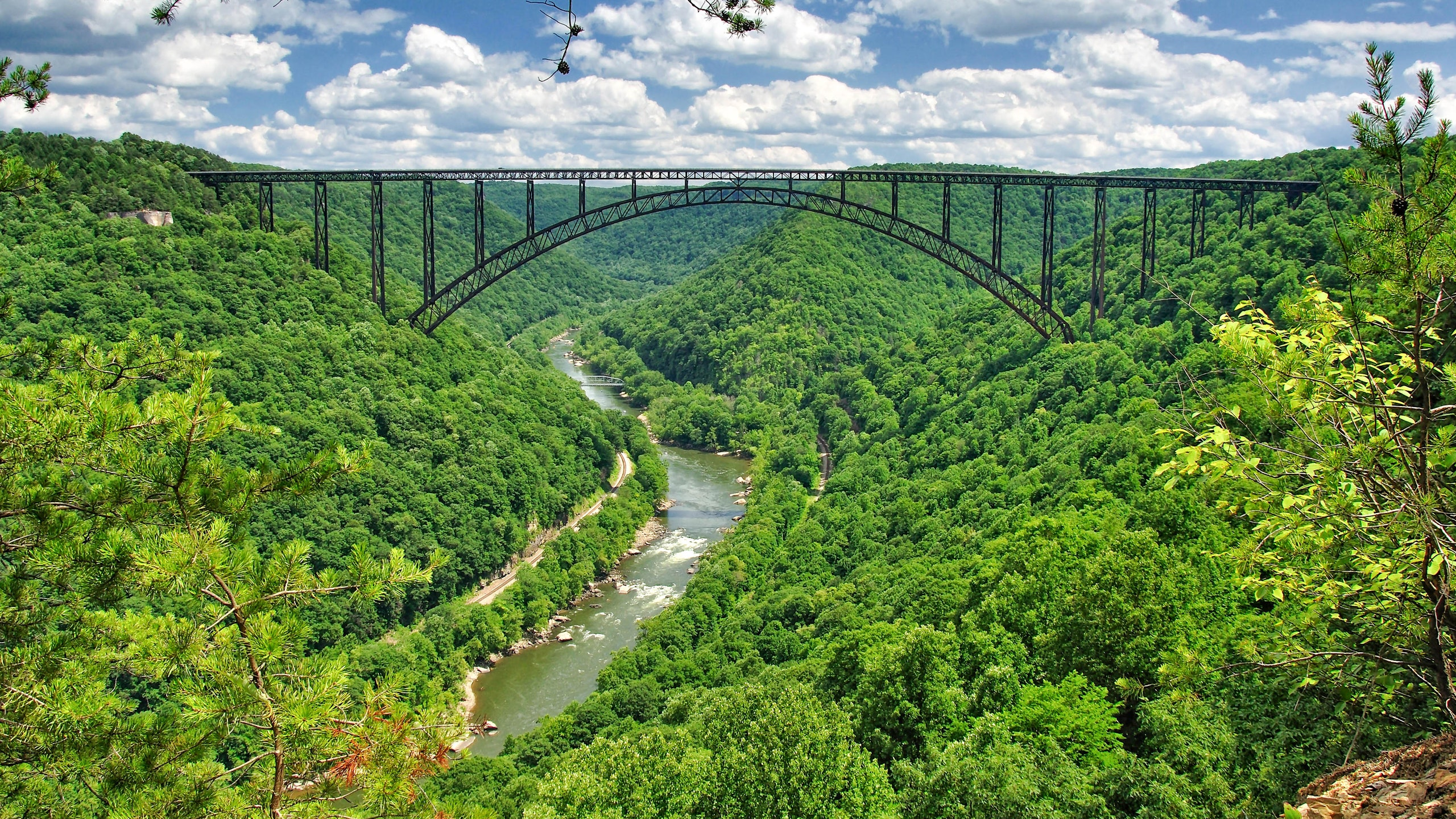 New River Gorge National Park Is Made for Rafting and Rock Climbing