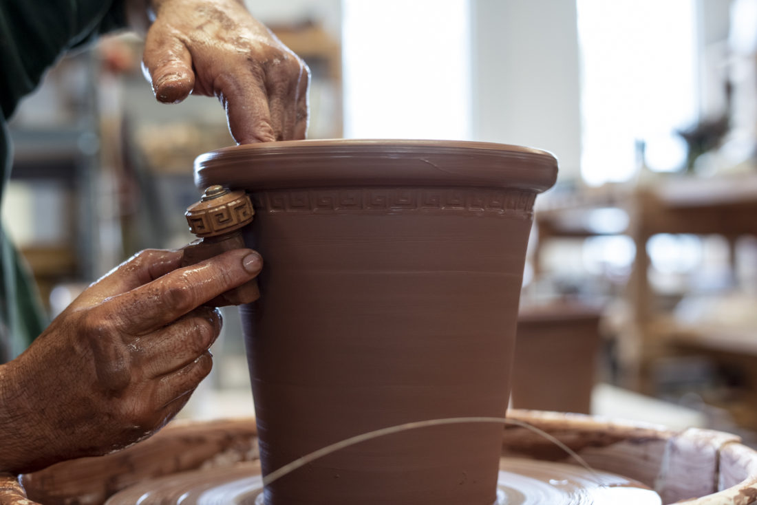 Flower Pots Inspired By Lowcountry Treasures