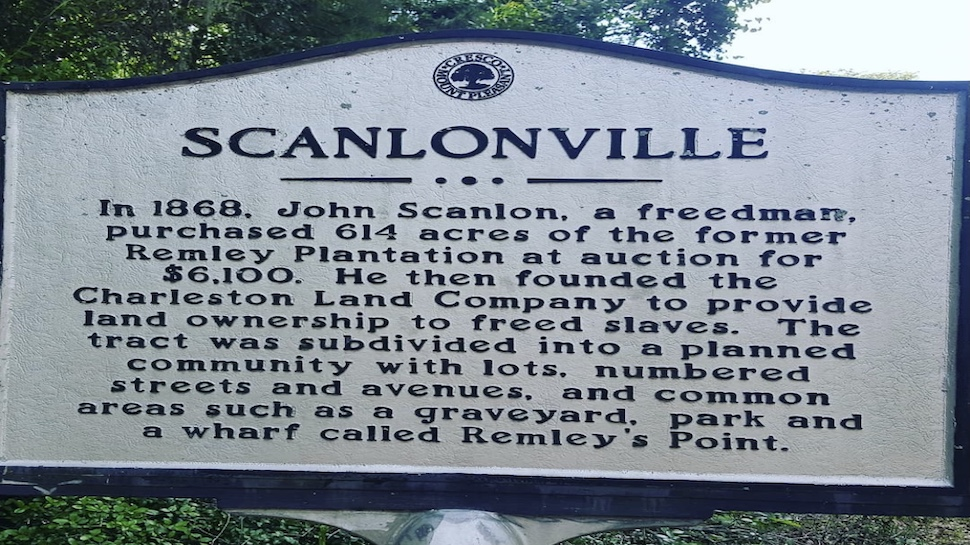 The History of Scanlonville in Mt. Pleasant